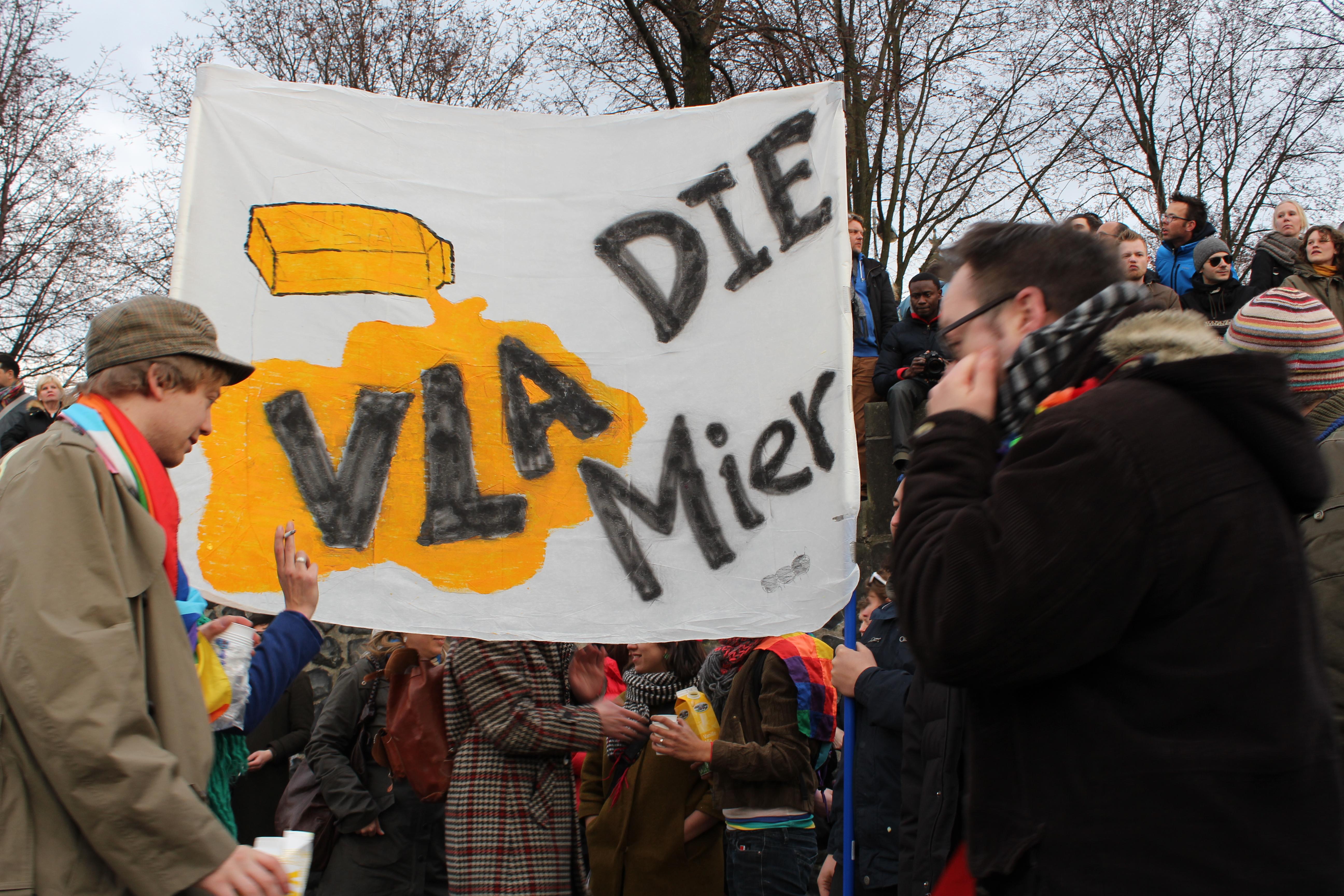 homo demonstratie tegen poetin , © anita janssen
