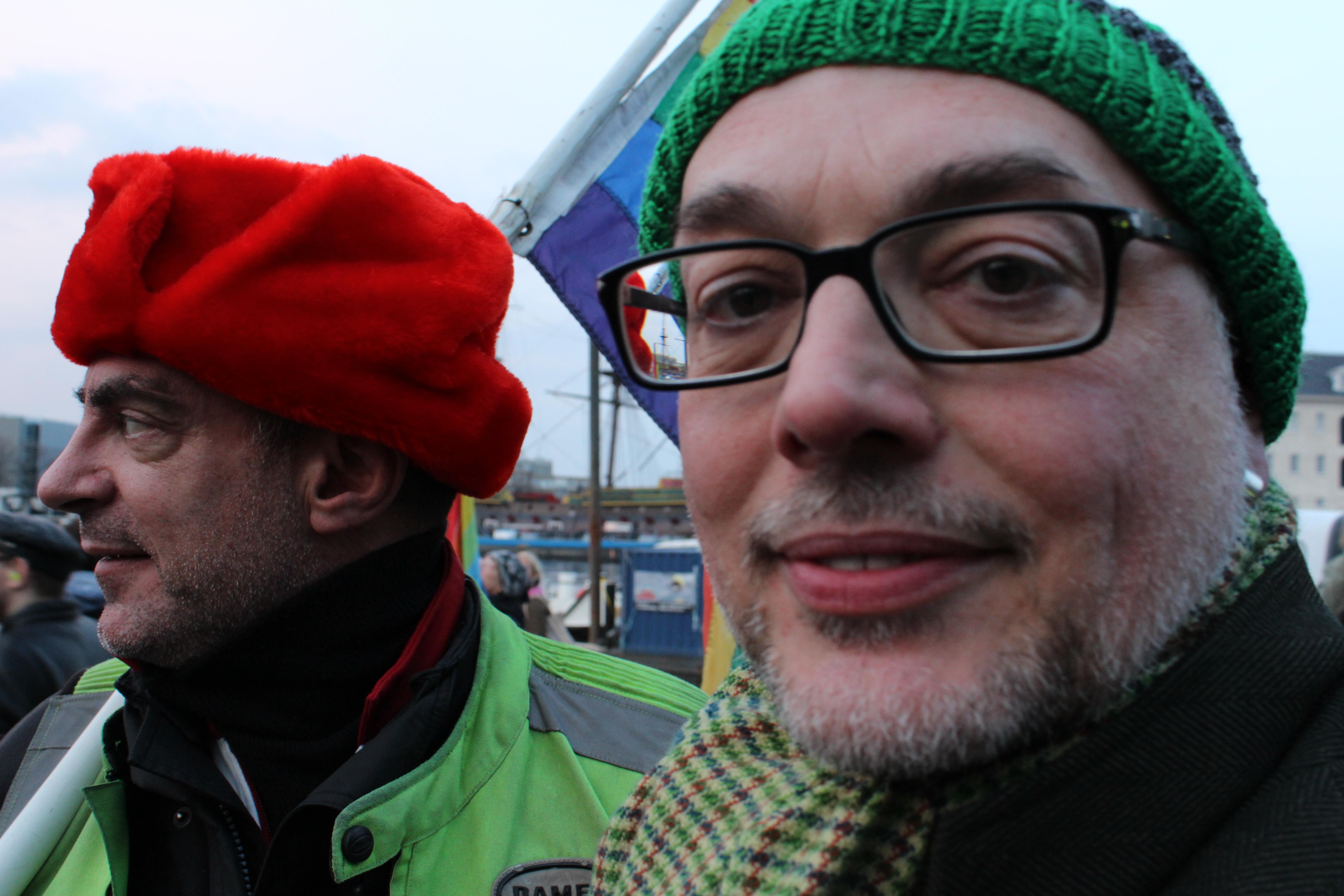 homo demonstratie poetin, C anita janssen , vincent boekhandel vrolijk
