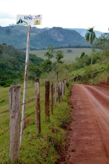 caminho da fe, 126 km