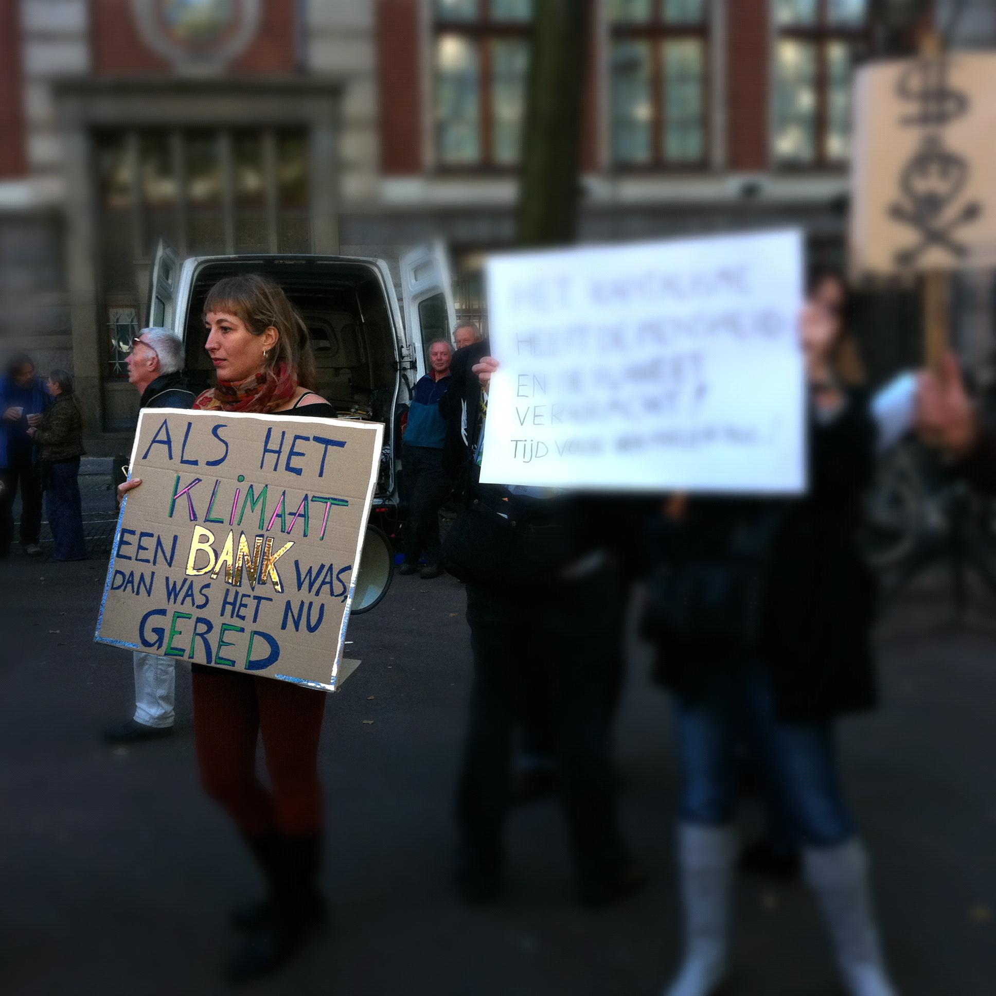 occupy Amsterdam 2